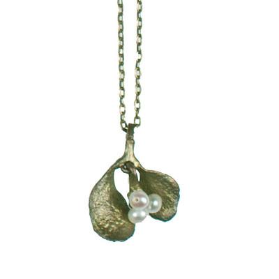 Mistletoe Petite Pendant Necklace