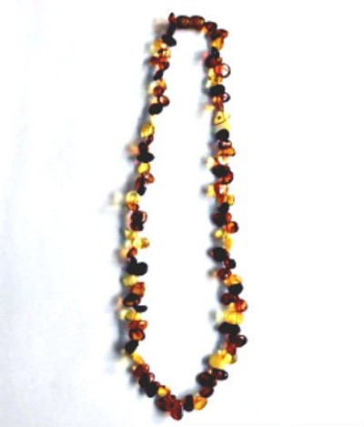 """Multi-Color 18""""  Amber Necklace"""
