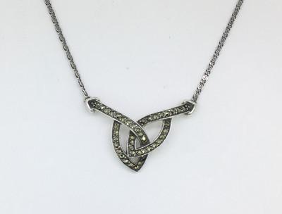Elliptical Link Necklace