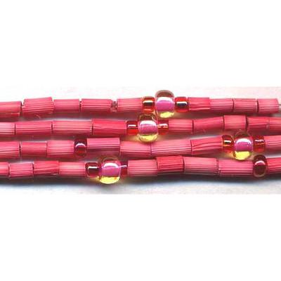 handmade single strand zulugrass african bead jewelry in sweet pea