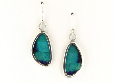 Cherubina Butterfly Wing Earrings (X-Small)