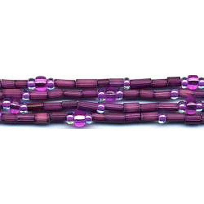 handmade single strand zulugrass african bead jewelry in passion