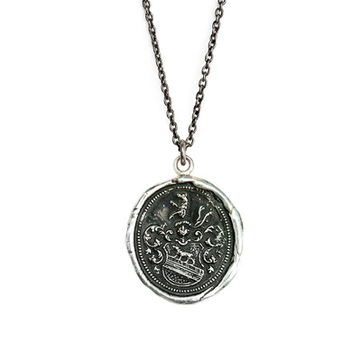 """Heart of the Wolf""- Sterling Silver 22"" Necklace"