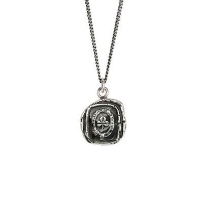 """Shamrock""- Sterling Silver 18"" Necklace"
