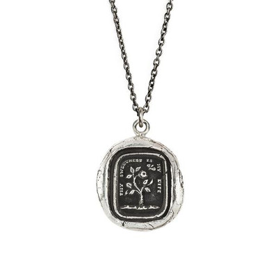 """""""Sweetness"""" Sterling Silver 18"""" Necklace"""