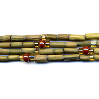 handmade single strand zulugrass african bead jewelry in aloe