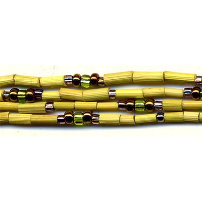 handmade single strand zulugrass african bead jewelry in rift morning
