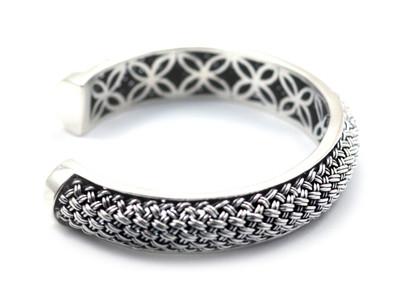 Anyaman Bali Cuff Bracelet
