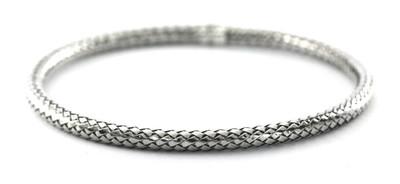 Anya Round Woven Bangle Bracelet