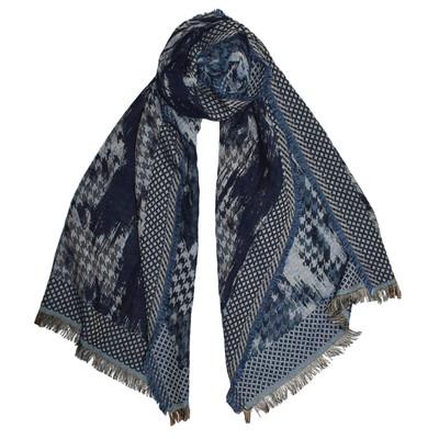 Tenley Dupatta Scarf - Blue