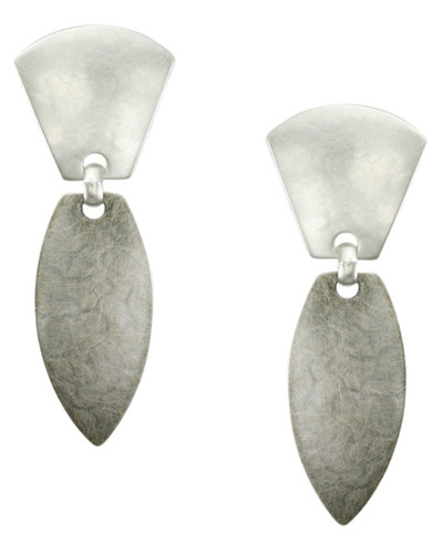 Antique Silver Color Dangle Earring