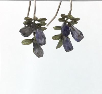 Wisteria Iolite Earrings