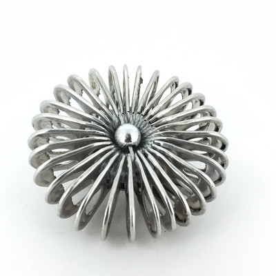 Soda Tab Pin, Silver