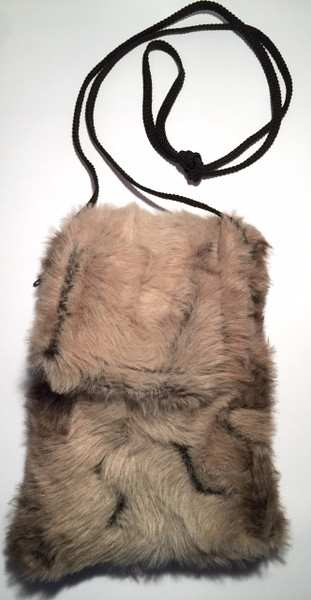 Faux Fur Fawn Phone CaseCrossbody Bag