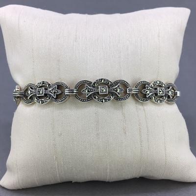 Marcasite Ribbon Bracelet