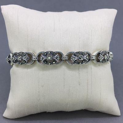 Marcasite w/ Circles Bracelet