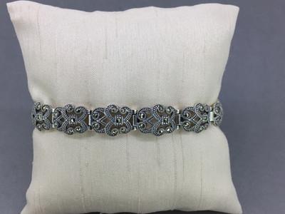 Scroll Marcasite Bracelet