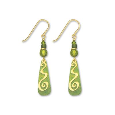 fdeee17f5 Rectangular Spiral Earrings - Mima's Of Warwick, LLC