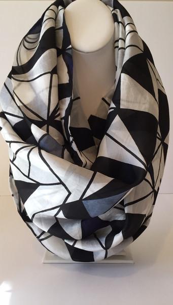 Zaniah Infinity Silk Scarf