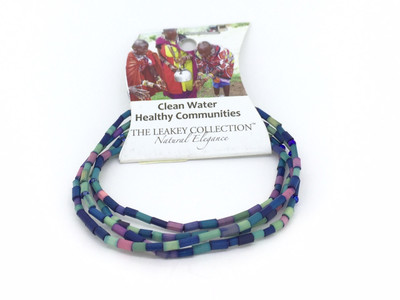 Zulugrass Clean Water Healthy Communities Single Strand Necklace/Bracelet