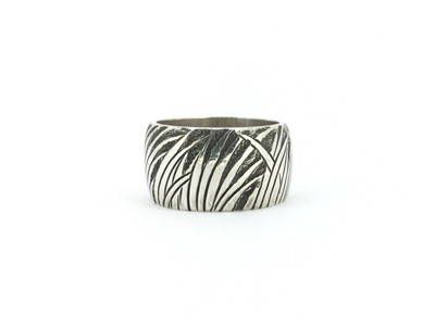 Bamboo Wide Band Ring