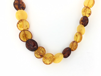 Multi-Color Amber Necklace