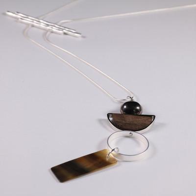 Molecular Mobiles Necklace