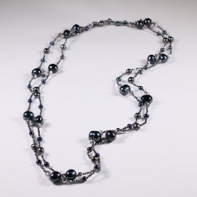 Delicate Orbs Necklace