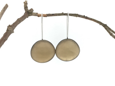Metallic Organic Wire Earrings