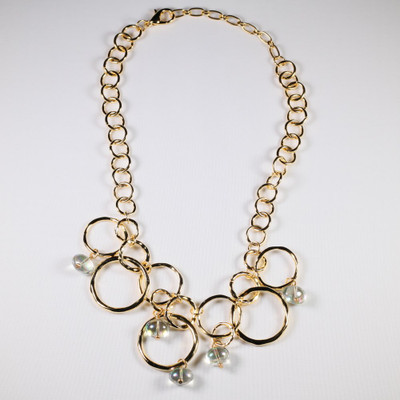 Olympic Ring Toss Necklace