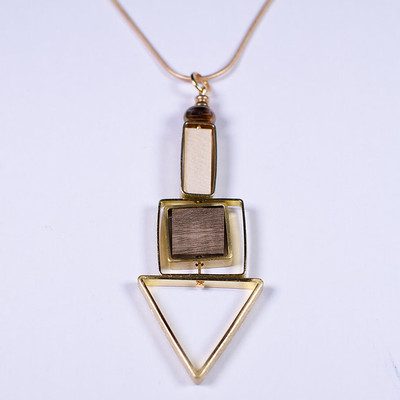 Plumb Point Probe Necklace
