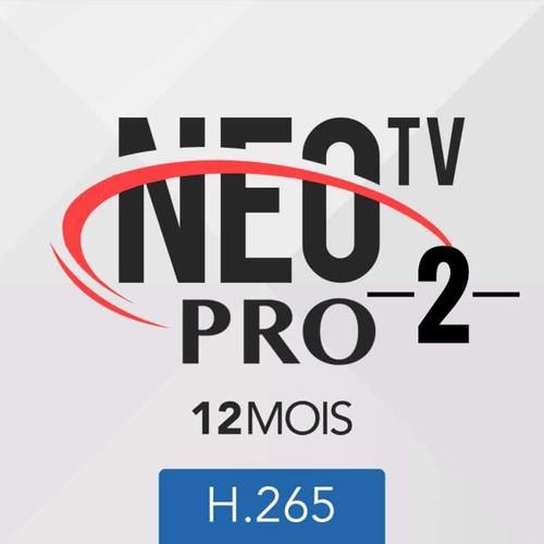 ABONNEMENT NEO PRO 2 IPTV 12 MOIS