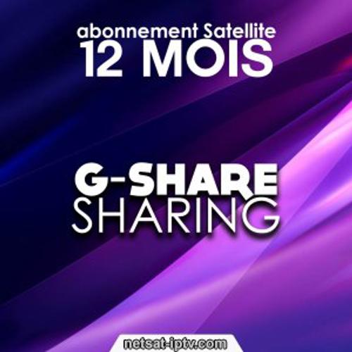 Abonnement Serveur Gshare 12 mois Pour Geant&Starsat..