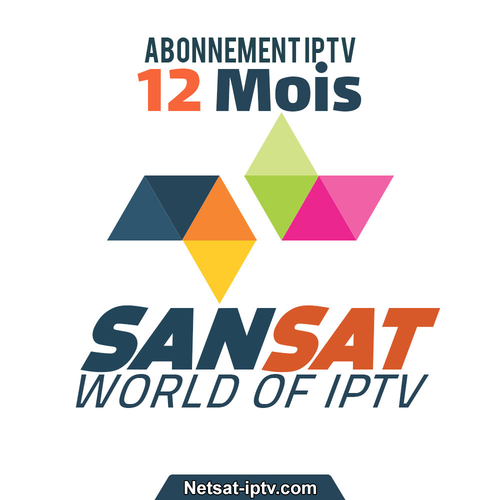 Abonnement SANSAT IPTV 12 MOIS SMART TV SAMSUNG ANDROID IOS ..