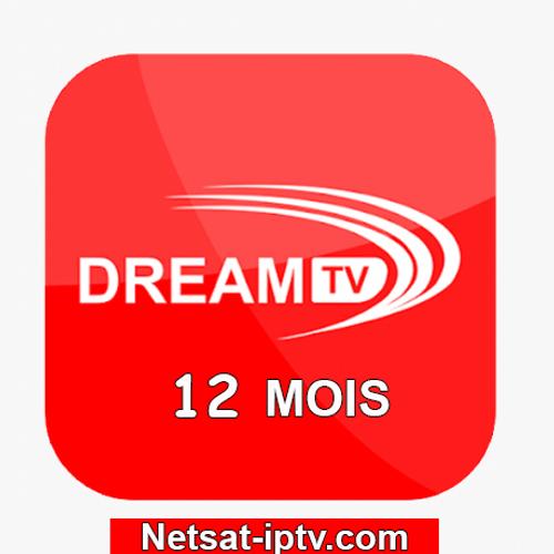 Abonnement DREAM TV IPTV 12 MOIS ANDROID IOS SMART TV