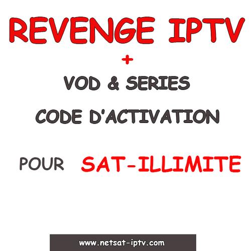 Abonnement REVENGE IPTV Pour SAT-ILLIMITE