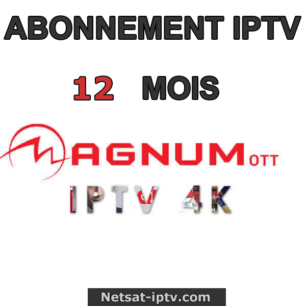 Abonnement Magnum OTT IPTV 12 , 6 , 3 et 1 MOIS ANDROID IOS MAG SMART TV