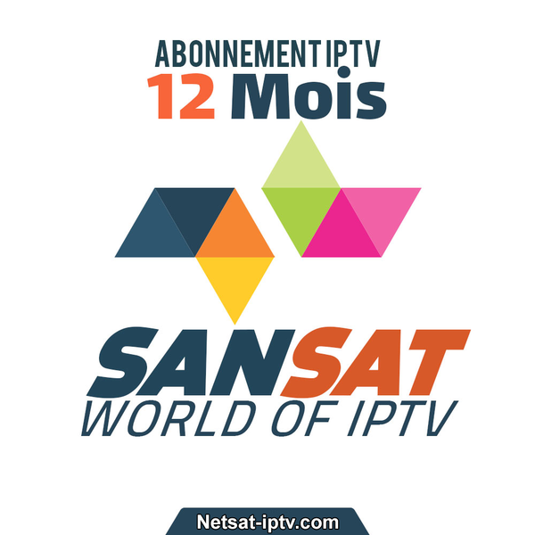 Abonnement SANSAT IPTV 12 MOIS SMART TV SAMSUNG ANDROID IOS ..
