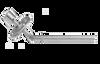 Polar Hardware 5033 Collapsible Exit Bar