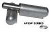 "8"" Aluminum Weld On Hinge @ Cottco.com"