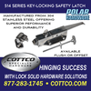 Polar Hardware 514 Stainless Steel Key Locking
