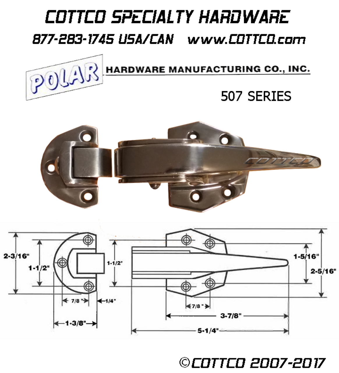 Polar Hardware Polarmatic 507 Trip Lock