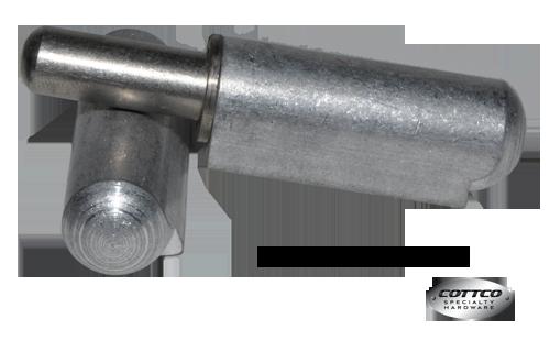"4"" Aluminum Weld On Bullet Hinge @ Cottco.com"