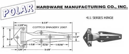 Polar Hardware 411 Schematic