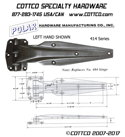 Polar 414 Series Hinge
