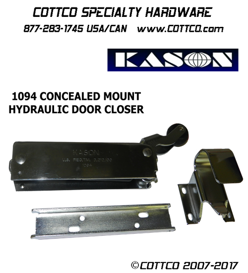 Kason 1094 Door Closer Offset