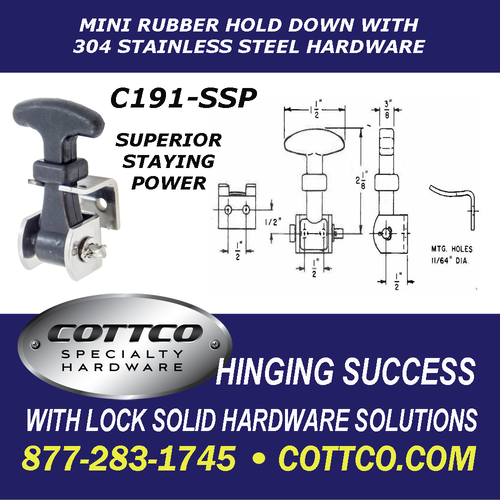 C191-SSP The Mini Rubber Hold Down Schematic