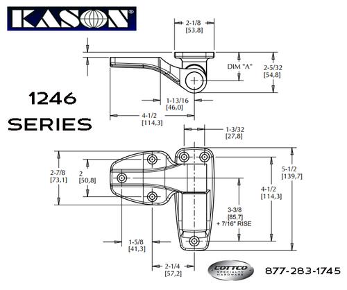 Kason 1246 Mounting Dimensions