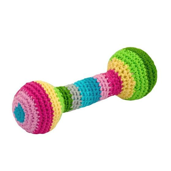 Green Sprouts Organic Cotton Chime Rattle