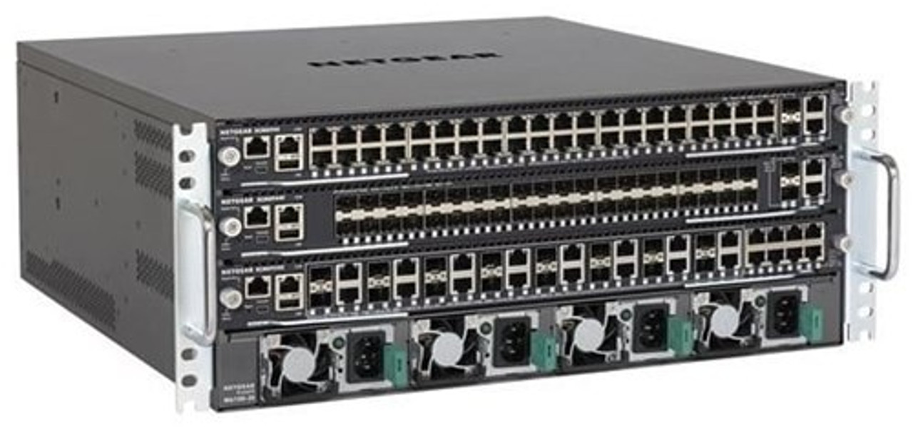 NetGear Fully Managed Switch Chassis and Modules